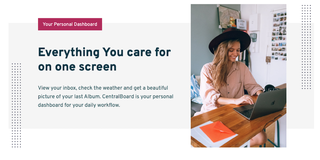 CentralBoard - Your service for custom dashboards | Product Hunt