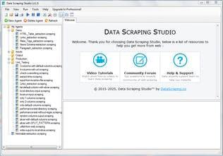 Data Scraping Studio - Point and click screen scraping tool using