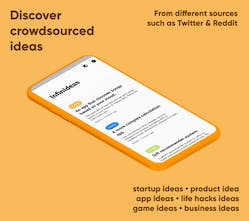 Infinideas Infinite Feed Of Crowdsourced Ideas From The Web Product Hunt