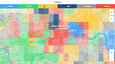 Neighborhood Map London.Hoodmaps Crowdsourced Neighborhood Maps To Navigate A City