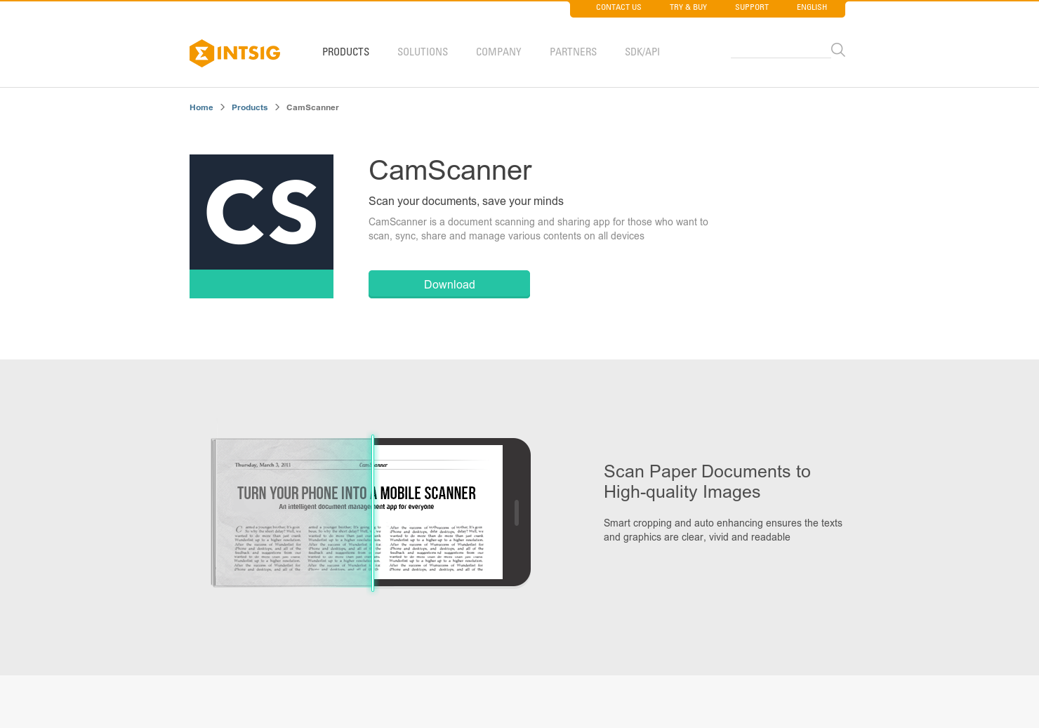 CamScanner - Turns you phone into a Scanner for Document