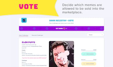 Meme Factory - A marketplace To buy, sell & collect rare
