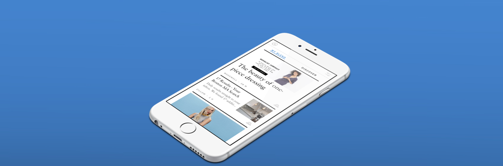 My Blend - A personalized magazine of your lifestyle emails