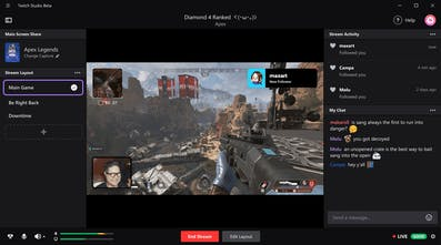 Twitch Studio - Twitch has released it's own broadcasting