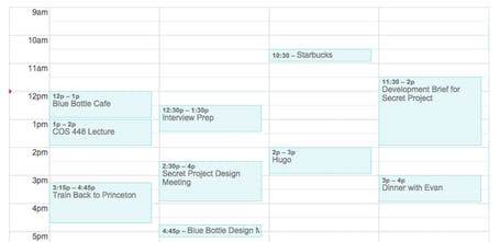 Plan - A beautiful organizer that integrates into your