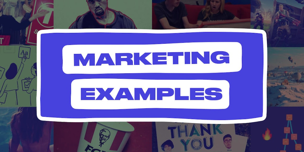 Marketing Examples - A gallery of real world marketing examples   Product Hunt