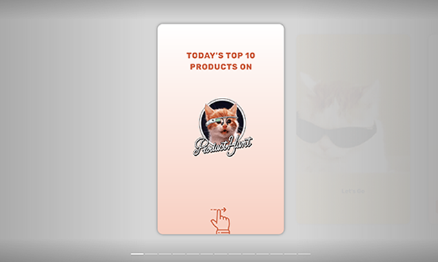 Product Hunt AMP Stories - Top 10 Product Hunt products as an AMP Story   Product Hunt