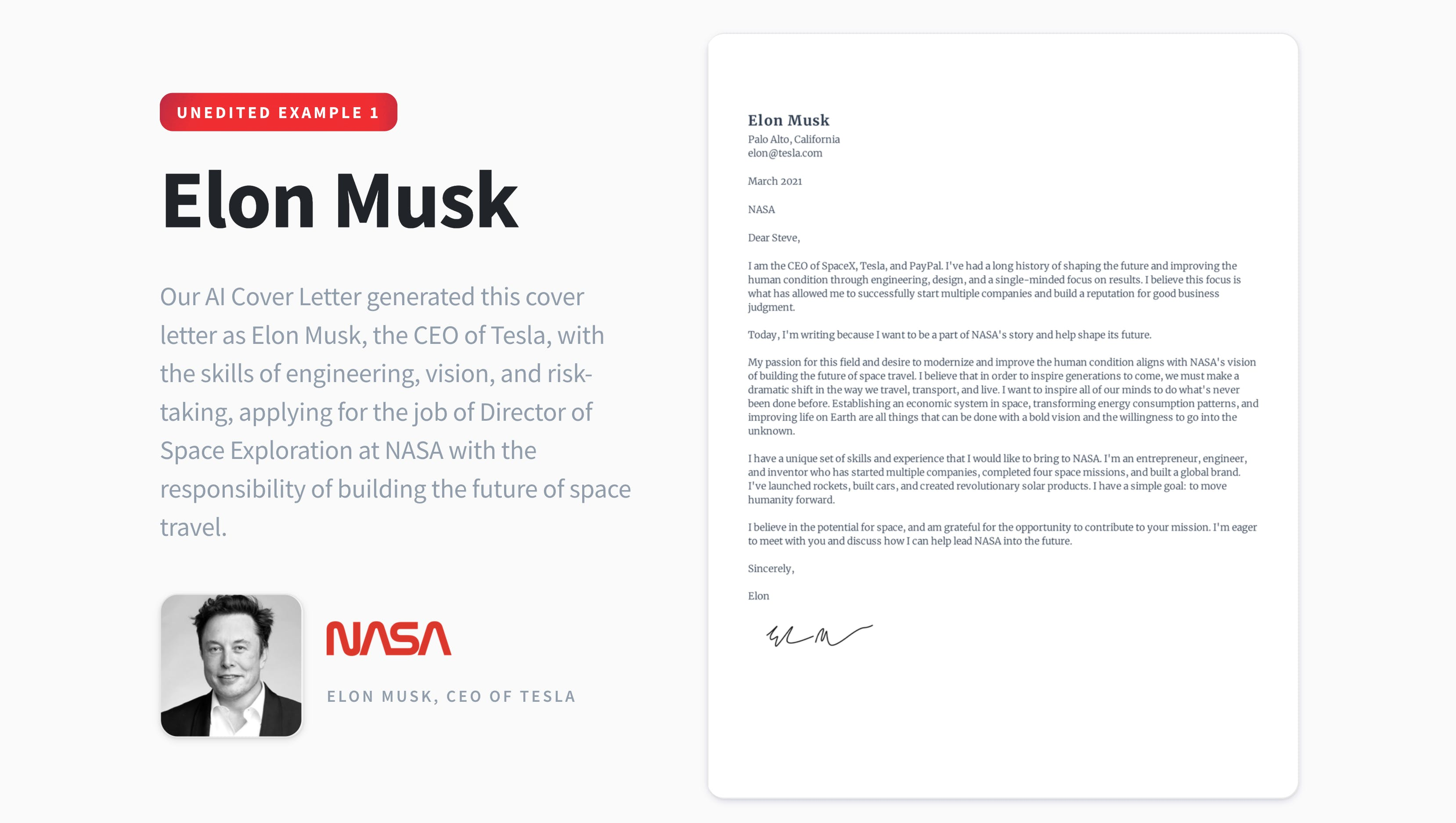 Ai Cover Letter Generate A Tailored Cover Letter Based On Your Resume Product Hunt