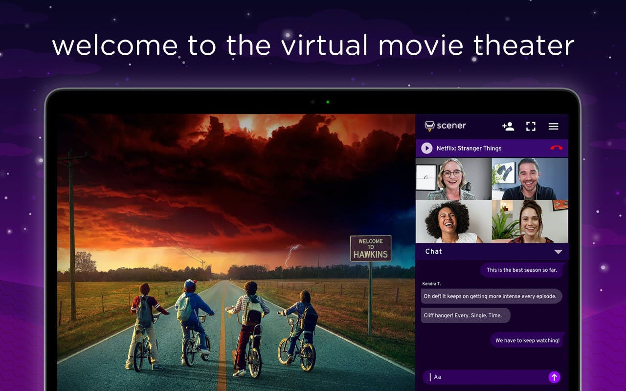 Scener - A virtual movie theater to watch content with your ...