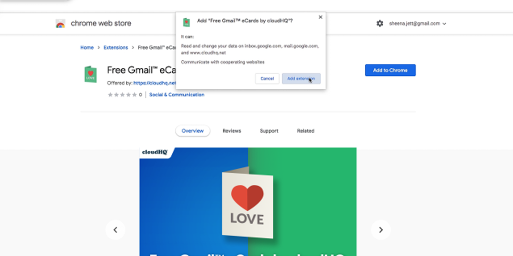 Free Gmail eCards by cloudHQ - Free eCards created in Gmail No ads, no spam folder Only❤️ | Product Hunt