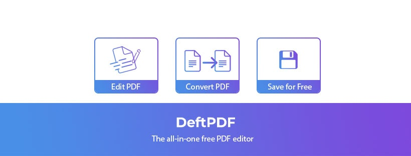 DeftPDF - A reliable, intuitive and productive PDF Software