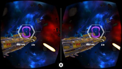 Deep Space Battle VR - Action-packed dogfight space battle game