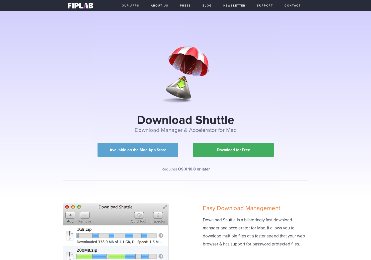 Download Shuttle - Download Manager & Accelerator for Mac | Product Hunt