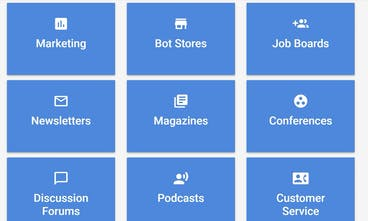 Bot Stash - A curated directory of chat bot resources & tools