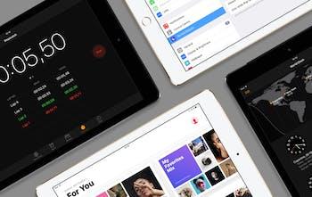 iOS 10 GUI for iPad - A massive free fully customizable UI