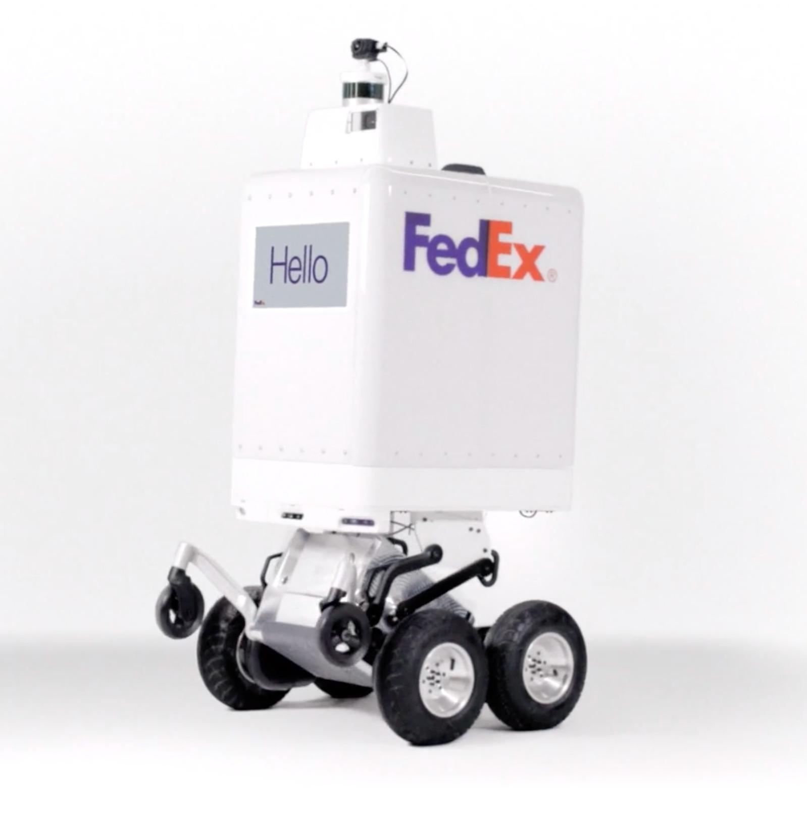FedEx SameDay Bot - FedEx's new same-day delivery robot