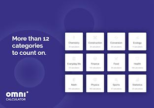Omni Calculator 2 0 - Your life in 777 free calculators