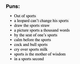Pun Finder - Enter any word and get 'hilarious' puns to