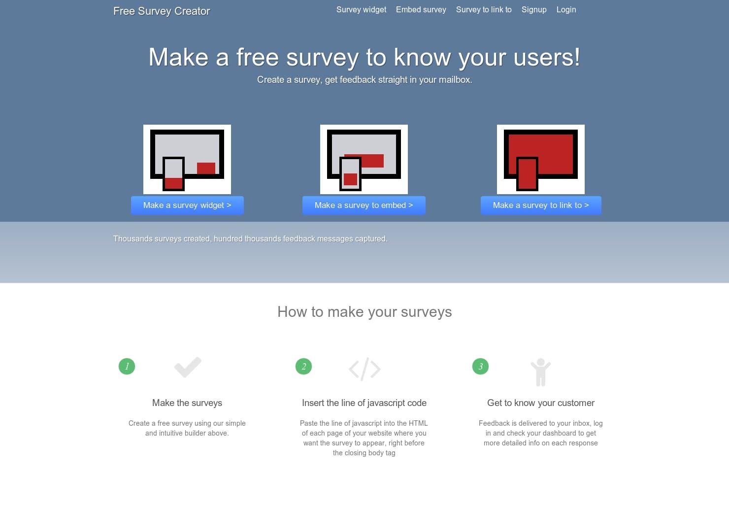 Free Survey Creator - Product Hunt
