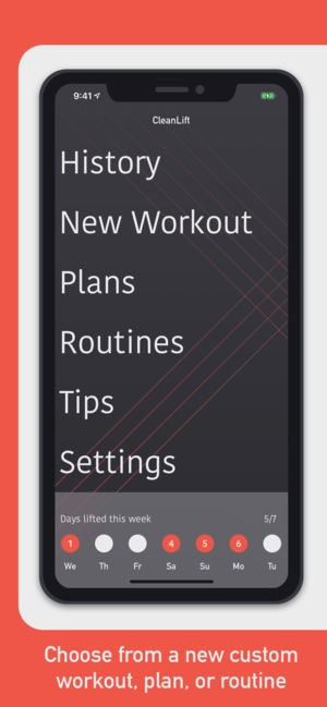 CleanLift - Log your weight training workouts for free 🏋️‍♂️