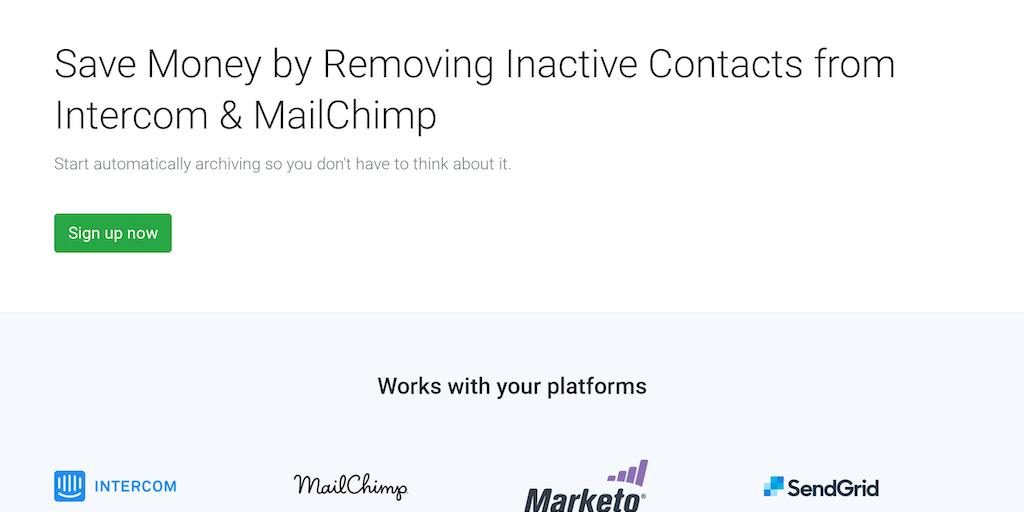 Hibernately - Delete Inactive Contacts from Intercom & MailChimp | Product Hunt