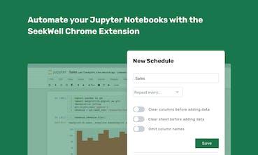 Jupyter Notebook Scheduler - Run your Jupyter notebooks on a