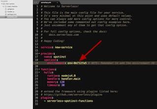 Serverless + Spotinist Functions - Run serverless functions