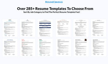 Resumecompass Build And Perfect Your Resume In Minutes