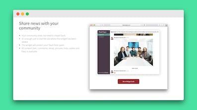 AirWidget - Slack widget for your website | Product Hunt