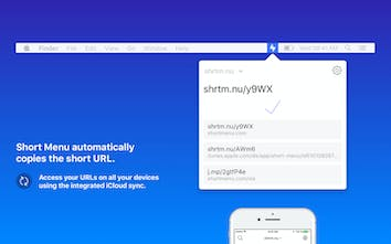 Short Menu 3.0 for Mac - The most powerful URL shortener for macOS |  Product Hunt