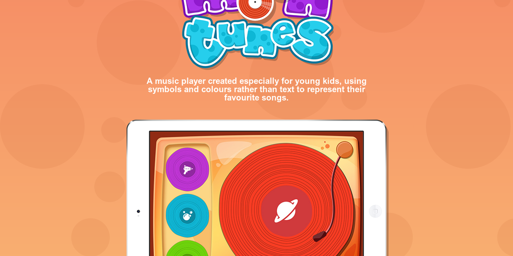 Moon Tunes - Symbol and colour based music player app for kids | Product  Hunt
