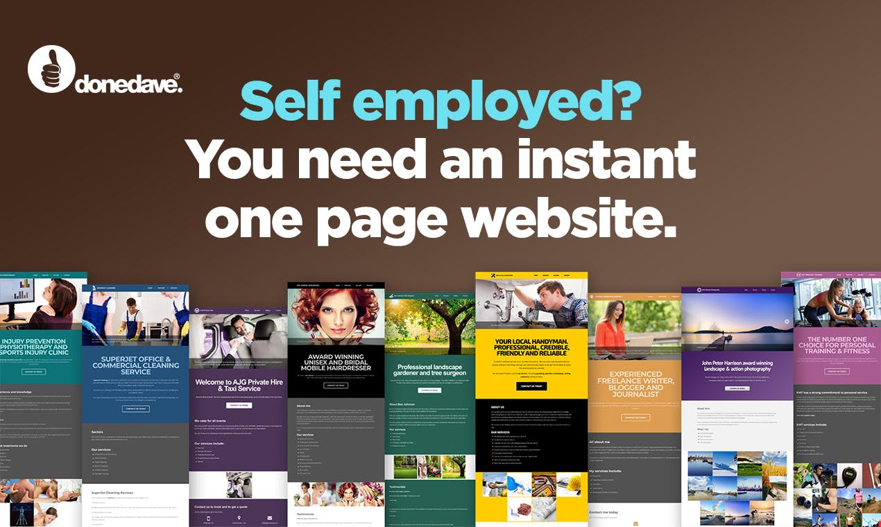 Done Dave   Free, super fast and easy website builder   Product Hunt