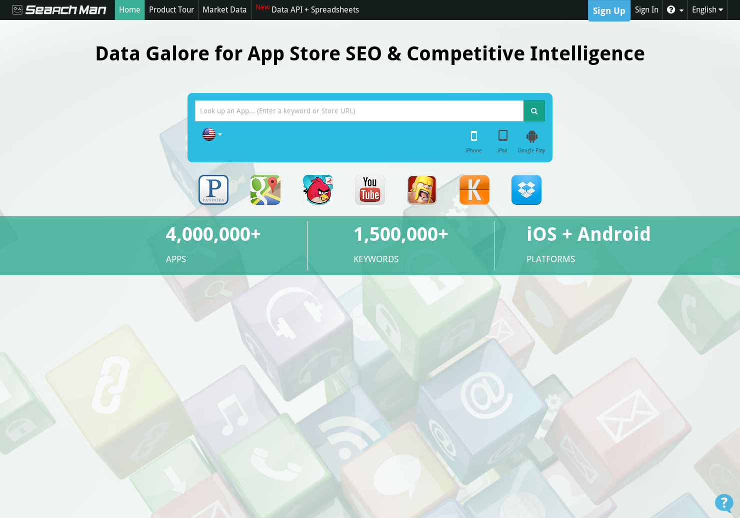 SearchMan SEO - Track your app's search visibility with