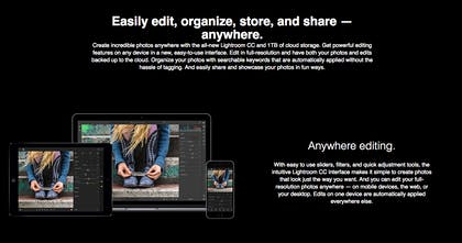 Lightroom CC from Adobe - Perfect your photography from