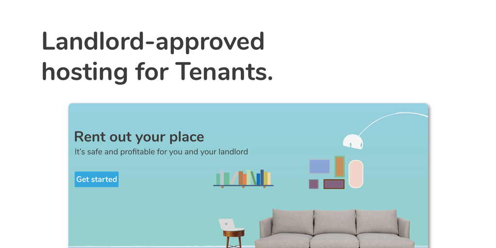 SharenSplit - Allowing tenants to host on Airbnb with landlord's consent | Product Hunt