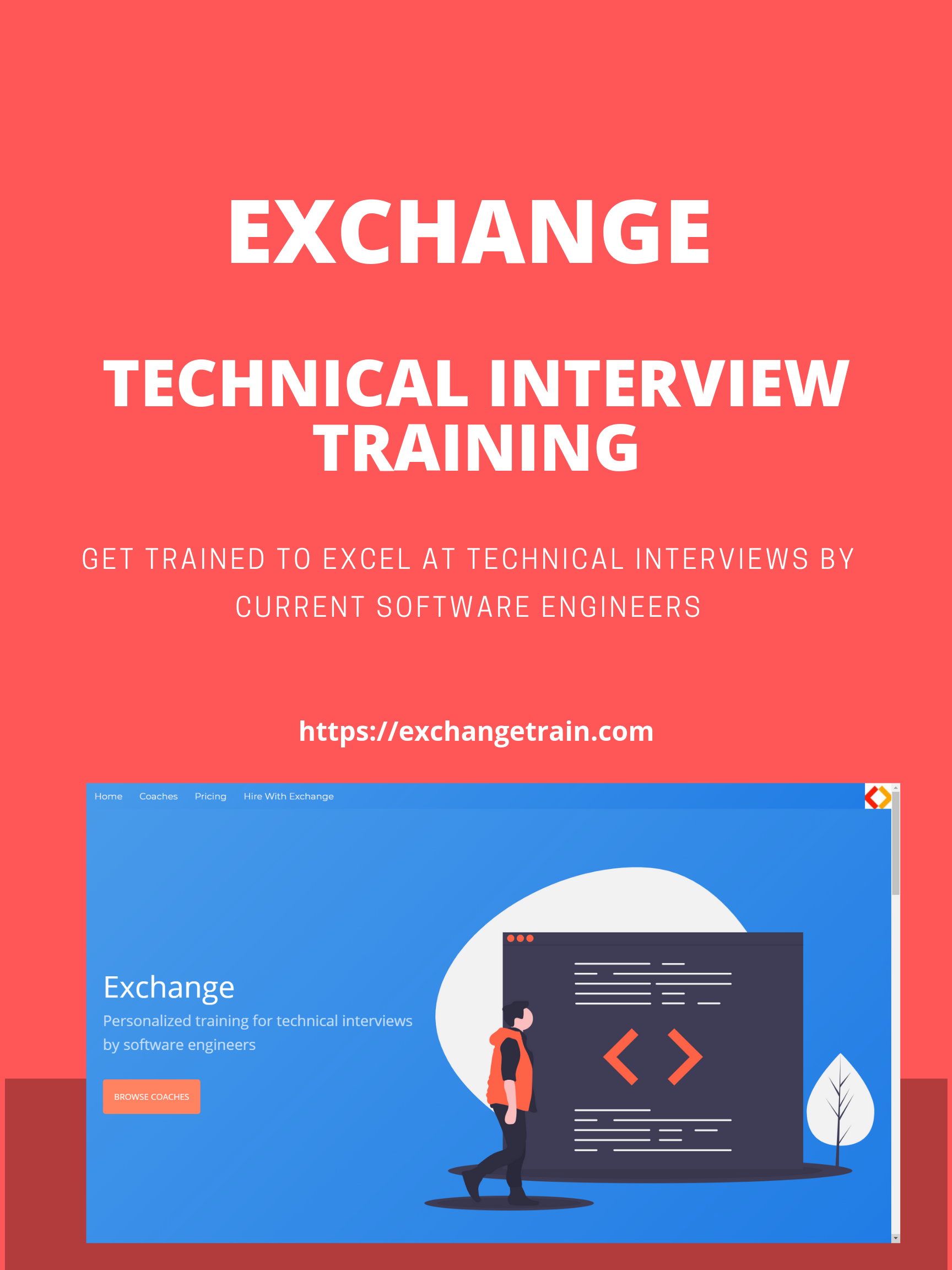Exchange Marketplace - Technical interview training from software engineers