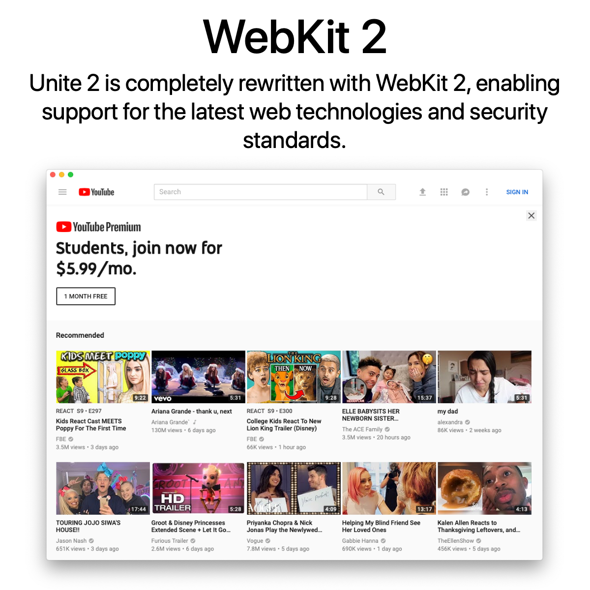 Unite 2 for macOS - Turn websites into customizable native apps on your Mac