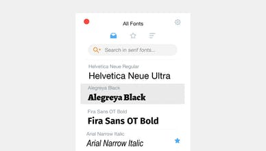 RightFont for Mac - Helping designers find the right font