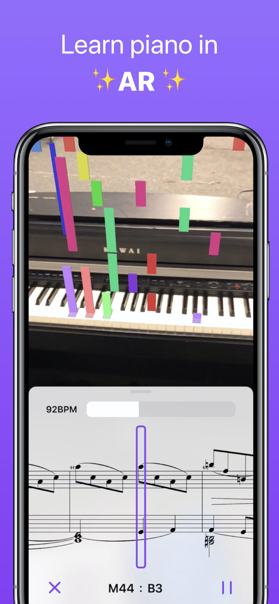 Chroma - Learn piano with AR ✨