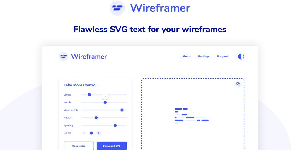 Wireframer - Cool text for your wireframes | Product Hunt