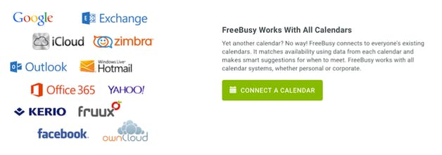 FreeBusy - Easiest way to share availability across