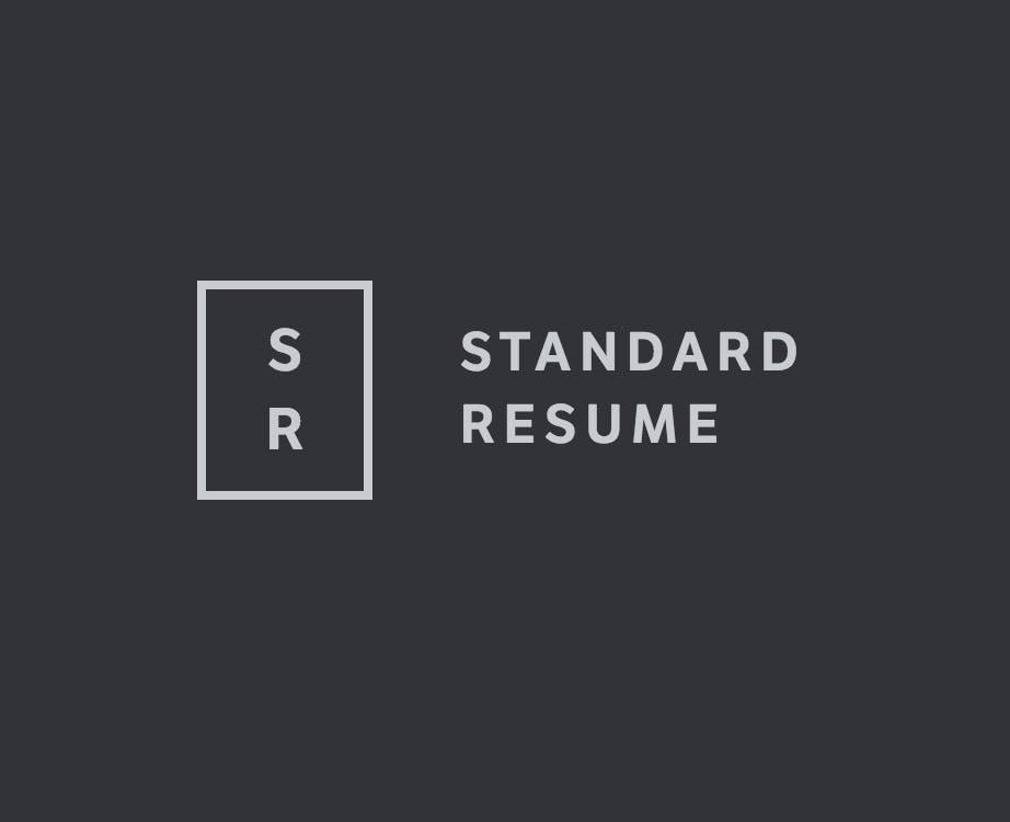 standard resume product hunt