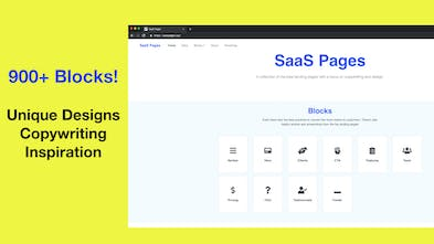 SaaS Pages - 900+ Screenshots of the best SaaS landing pages