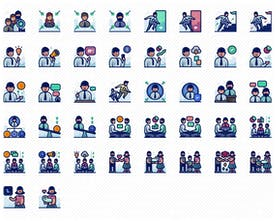 1000 Detailed Creative Icons - Carefully designed icons with