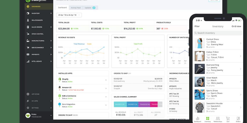 TradeGecko - Modern inventory management software | Product Hunt