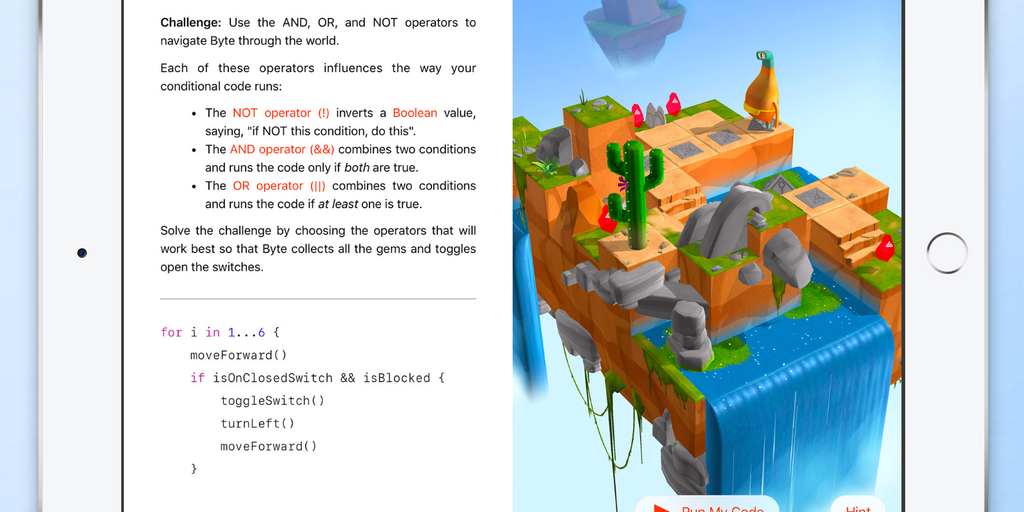Swift Playgrounds - Makes it fun to learn and experiment