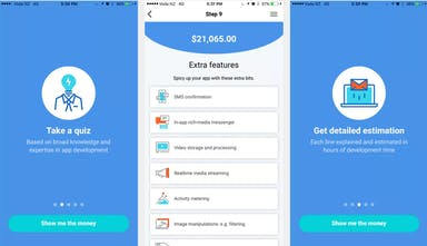 Estimapp 2 0 - How much does it really cost to make an app