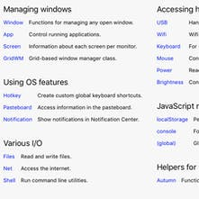 Autumn - The macOS window manager for JavaScript hackers
