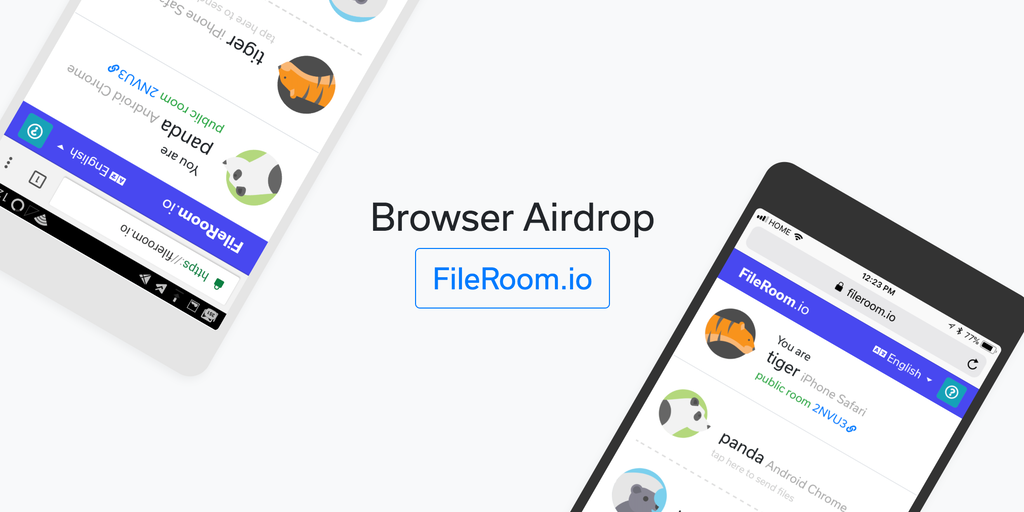how to send files with airdrop