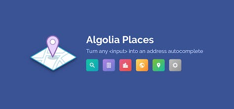 Algolia Places - Intelligent address autocomplete for any